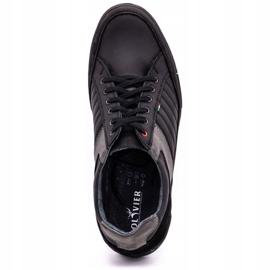 Olivier leather men's shoes 236GT black 9