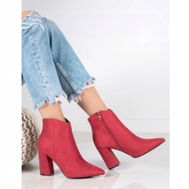 Seastar Sexy boots with jets red 1