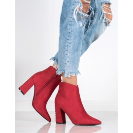 Seastar Sexy boots with jets red 4