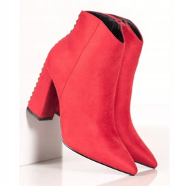 Seastar Sexy boots with jets red 3