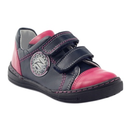 Girls' shoes Zarro 85/09 pink navy multicolored 1