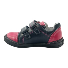 Girls' shoes Zarro 85/09 pink navy multicolored 2
