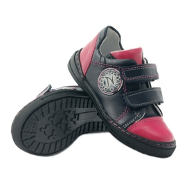 Girls' shoes Zarro 85/09 pink navy multicolored 3