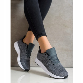SHELOVET Light Lace-up Sneakers grey 2