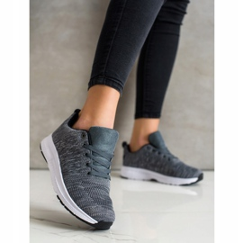 SHELOVET Light Lace-up Sneakers grey 3