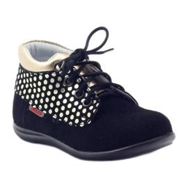 Girls' shoes Zarro 82/4 black gold golden 1