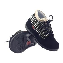 Girls' shoes Zarro 82/4 black gold golden 3