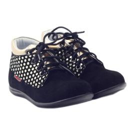 Girls' shoes Zarro 82/4 black gold golden 4