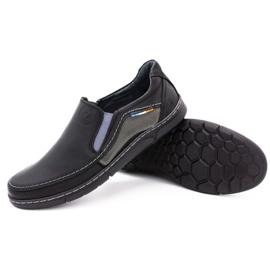 Olivier Men's slip-on shoes 283GT black 4