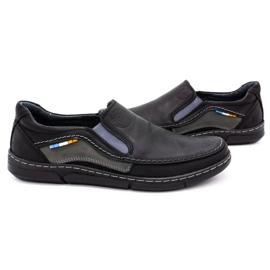 Olivier Men's slip-on shoes 283GT black 6