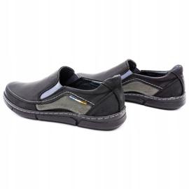 Olivier Men's slip-on shoes 283GT black 8