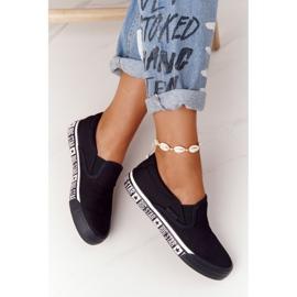 Women's Sneakers Slip-on Big Star HH274012 Black 3