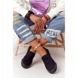 Women's Sneakers Slip-on Big Star HH274012 Black 2
