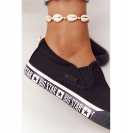 Women's Sneakers Slip-on Big Star HH274012 Black 1