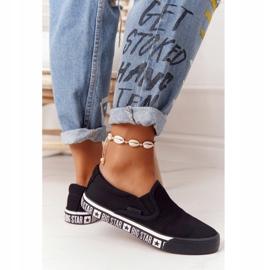 Women's Sneakers Slip-on Big Star HH274012 Black 5