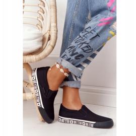 Women's Sneakers Slip-on Big Star HH274012 Black 6