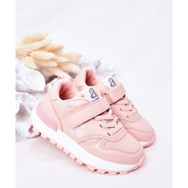 Apawwa Children's Sport Shoes Sneakers Pink Skatepark 3