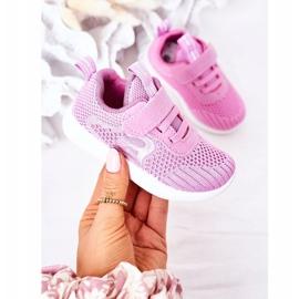 Apawwa Children's sports shoes dark pink Little Sportsman 2