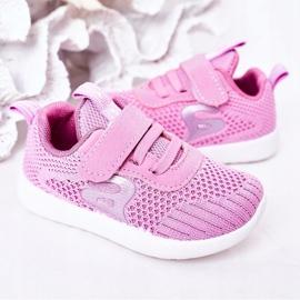 Apawwa Children's sports shoes dark pink Little Sportsman 6