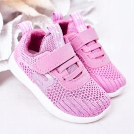 Apawwa Children's sports shoes dark pink Little Sportsman 1