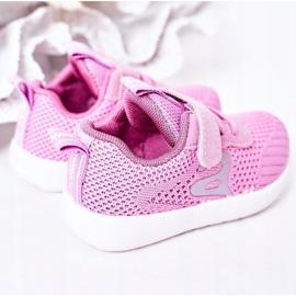 Apawwa Children's sports shoes dark pink Little Sportsman 3