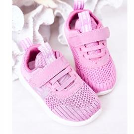 Apawwa Children's sports shoes dark pink Little Sportsman 5