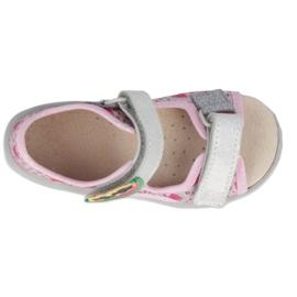 Befado preventive children's sandals 065X152 pink silver 2