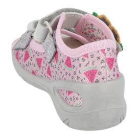 Befado preventive children's sandals 065X152 pink silver 1