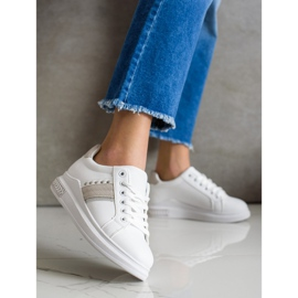 SHELOVET Casual Sneakers white 3