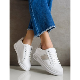 SHELOVET Casual Sneakers white 2