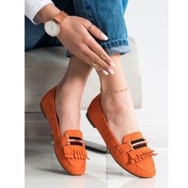Anesia Paris Stylish moccasins orange 2