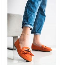 Anesia Paris Stylish moccasins orange 3