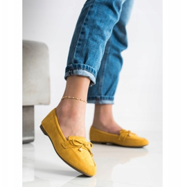 Anesia Paris Loafers With A Bow yellow 2