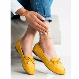 Anesia Paris Loafers With A Bow yellow 3