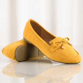 Anesia Paris Loafers With A Bow yellow 1