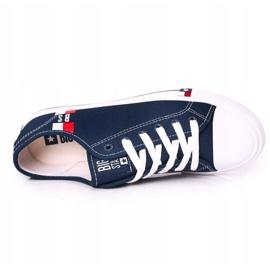 Men's Big Star HH174326 Navy blue sneakers 1