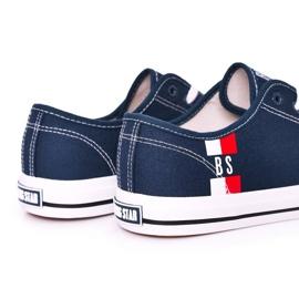 Men's Big Star HH174326 Navy blue sneakers 2