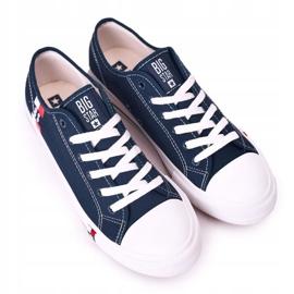 Men's Big Star HH174326 Navy blue sneakers 3