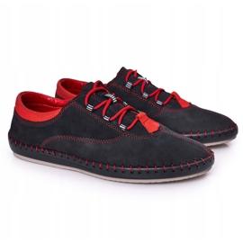 Bednarek Polish Shoes Men's Leather Shoes Bednarek Navy Blue 6