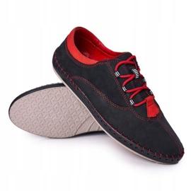 Bednarek Polish Shoes Men's Leather Shoes Bednarek Navy Blue 2