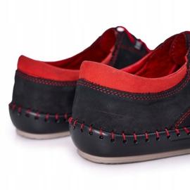 Bednarek Polish Shoes Men's Leather Shoes Bednarek Navy Blue 3