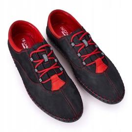 Bednarek Polish Shoes Men's Leather Shoes Bednarek Navy Blue 4