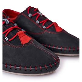 Bednarek Polish Shoes Men's Leather Shoes Bednarek Navy Blue 5