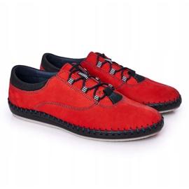 Bednarek Polish Shoes Men's leather shoes Bednarek Red 6