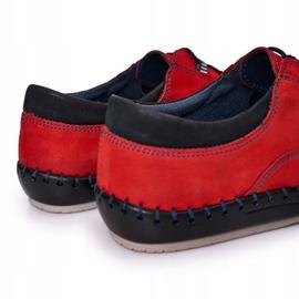 Bednarek Polish Shoes Men's leather shoes Bednarek Red 2