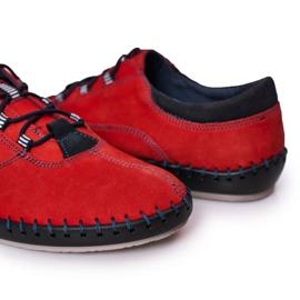 Bednarek Polish Shoes Men's leather shoes Bednarek Red 4