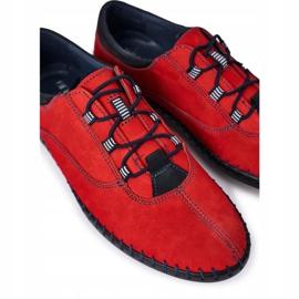 Bednarek Polish Shoes Men's leather shoes Bednarek Red 5