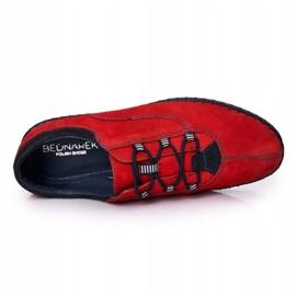 Bednarek Polish Shoes Men's leather shoes Bednarek Red 1