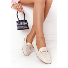 PS1 Classic Women's Beige Eloquence loafers 4