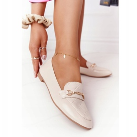 PS1 Classic Women's Beige Eloquence loafers 1